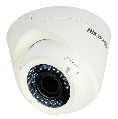 Kamera M7519 HD-TVI kompaktowa Hikvision DS-2CE56D1T-VFIR3 (1080p, 2.8 - 12 mm, 0.01 lx, IR do 40m)