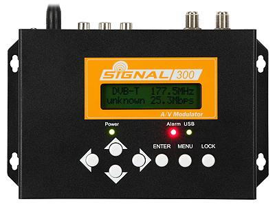 Modulator Signal-300 A/V-COFDM (DVB-T) R86300