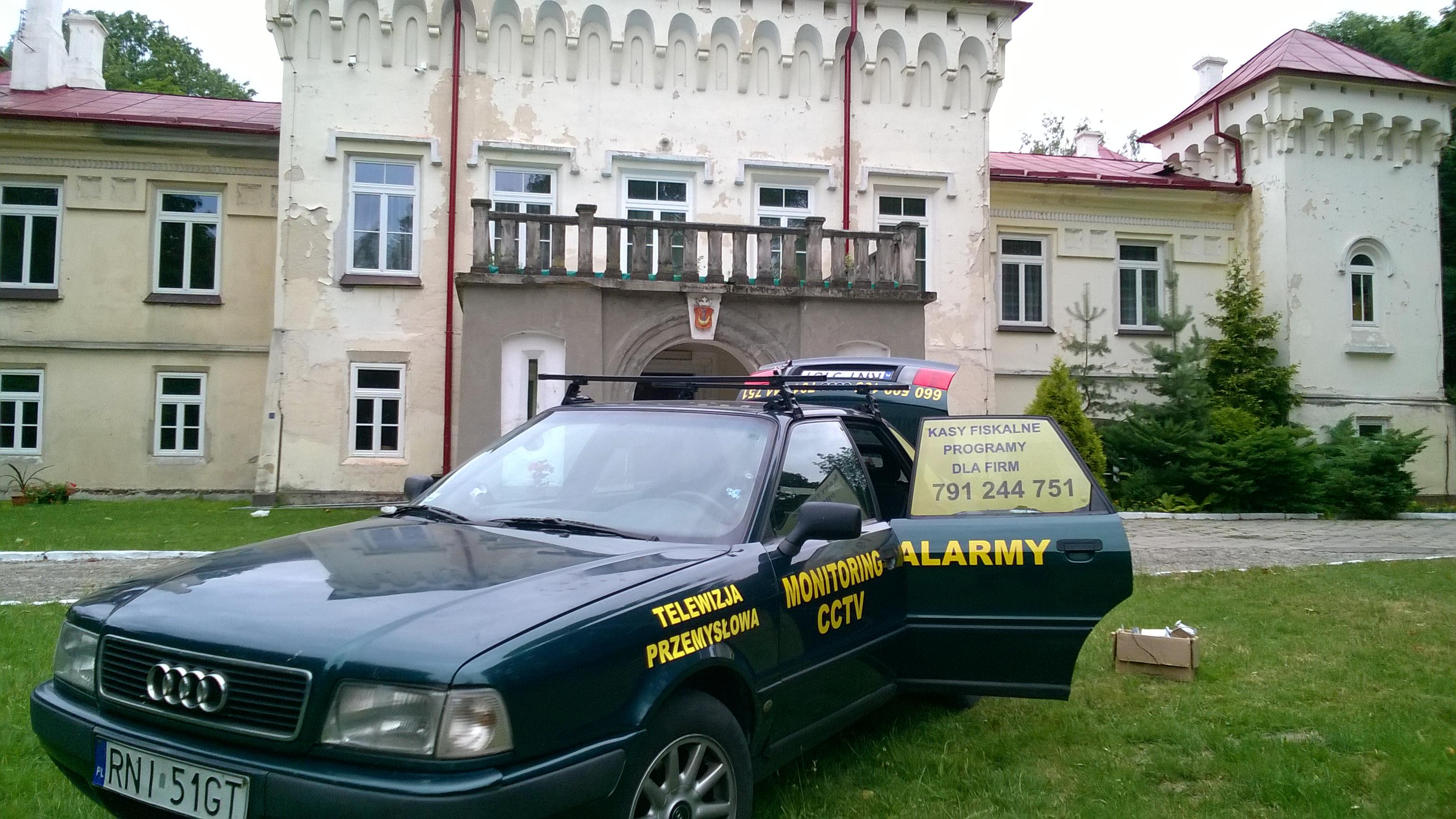 WP_20160707_009 Monitoring CCTV HD-TVI budynku szkolnego internetu w Ośrodku  w Grębowie
