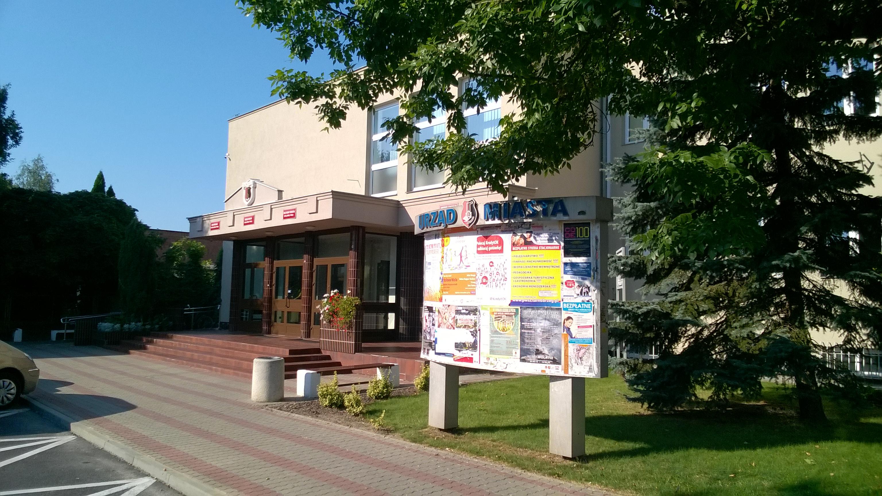 Magistrat w Stalowej Woli zabezpieczony monitoringiem wizyjnym przez firmę INFOMECH