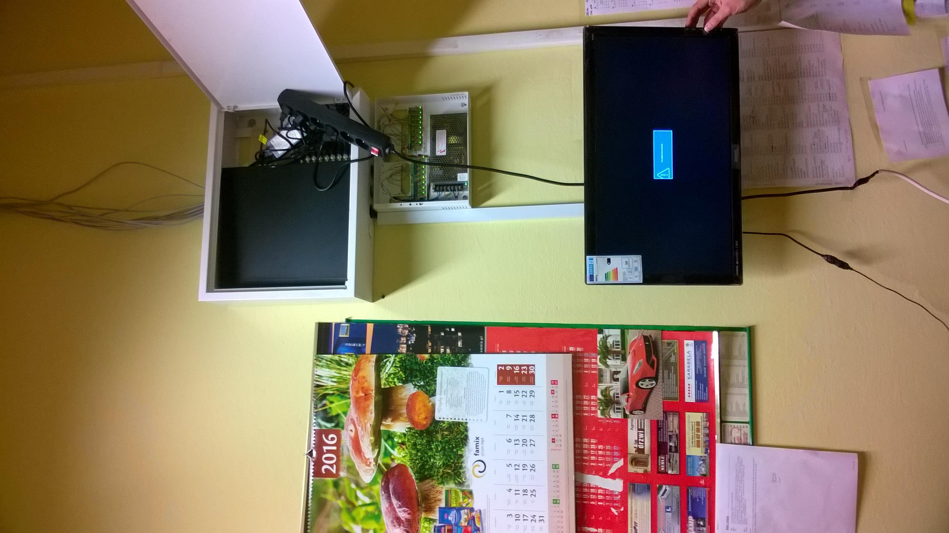 Wykonanie monitoringu wizyjnego Turbo HD Hikvision dla SPOŁEM Stalowa Wola
