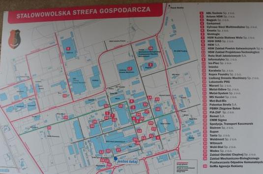 Monitoring i Alarm na terenie HUTY STALOWA WOLA. Zabezpieczenie techniczne obiektów