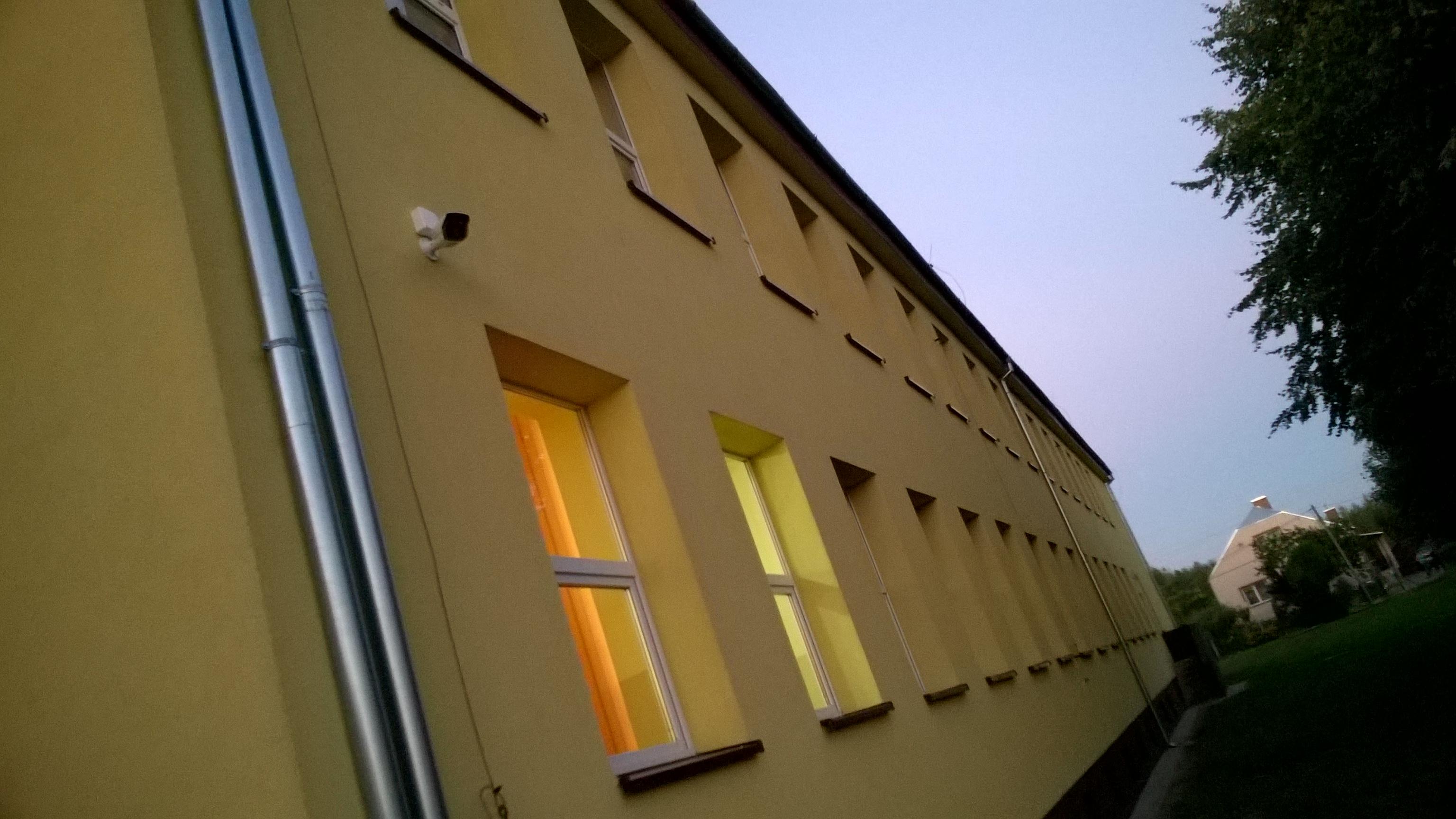 MONITORING CCTV szkoła Kotowa Wola Monitoring budynku szkoły Monitoring Turbo HD HIKVISION - Monitoring Tarnobrzeg