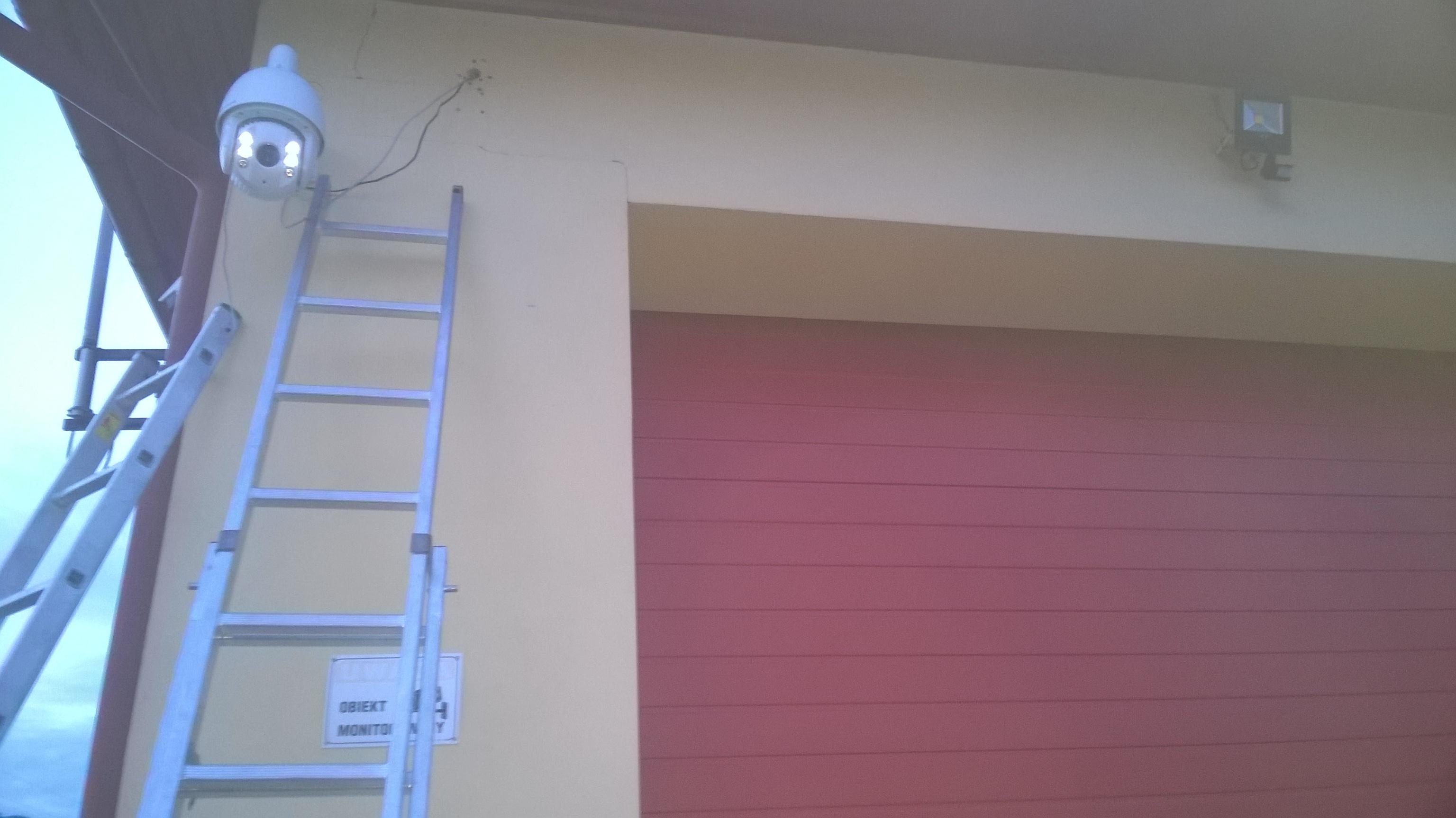 Zainstalowaliśmy monitoring na budynku jednostki OSP Straż pożarna w Stalowa Wola Charzewice monitoring hikvision