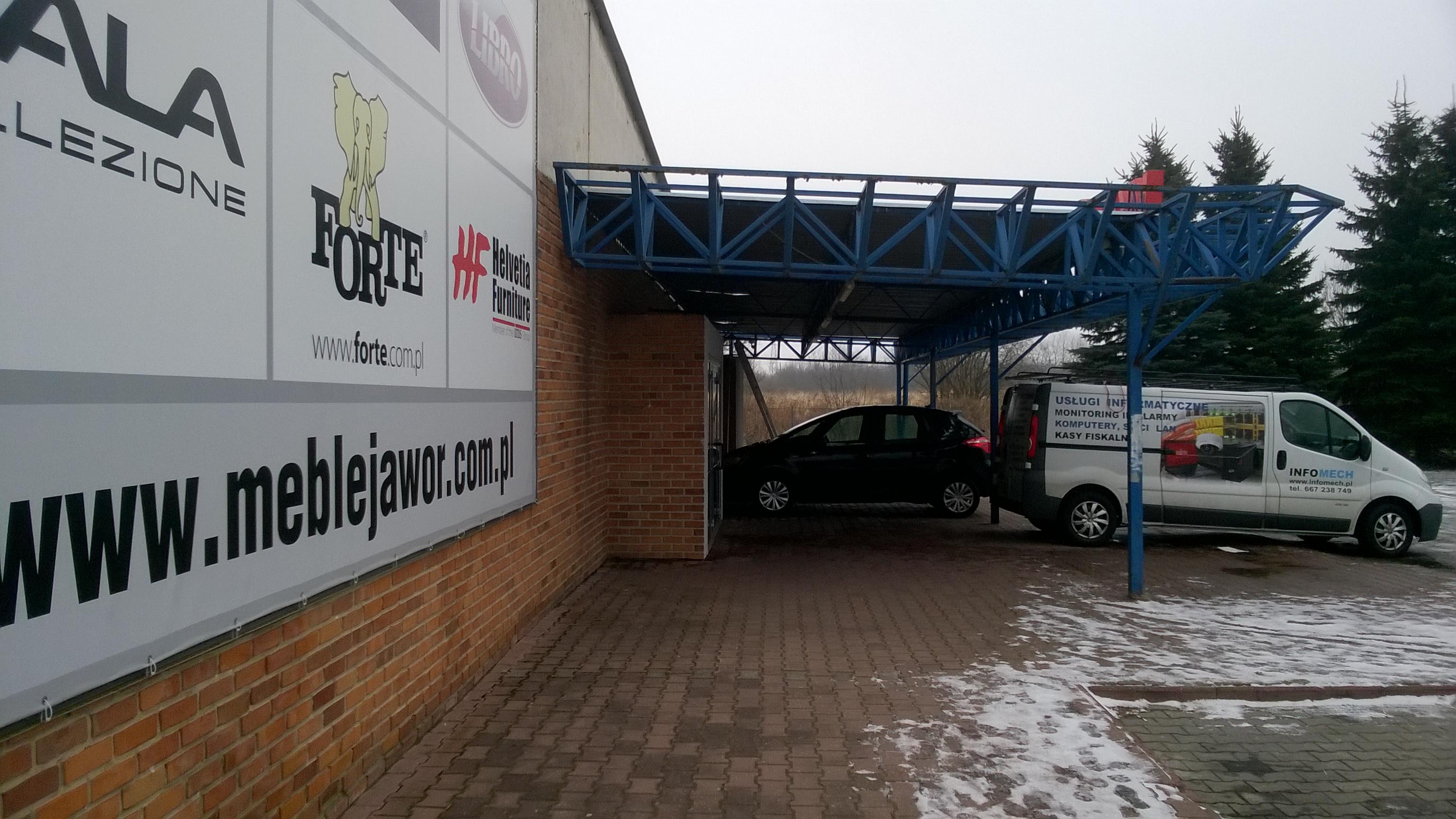 Wykonaliśmy monitoring sklepu meblowego Jawor w Zamościu - Monitoring Zamość, Monitoring Biłgoraj