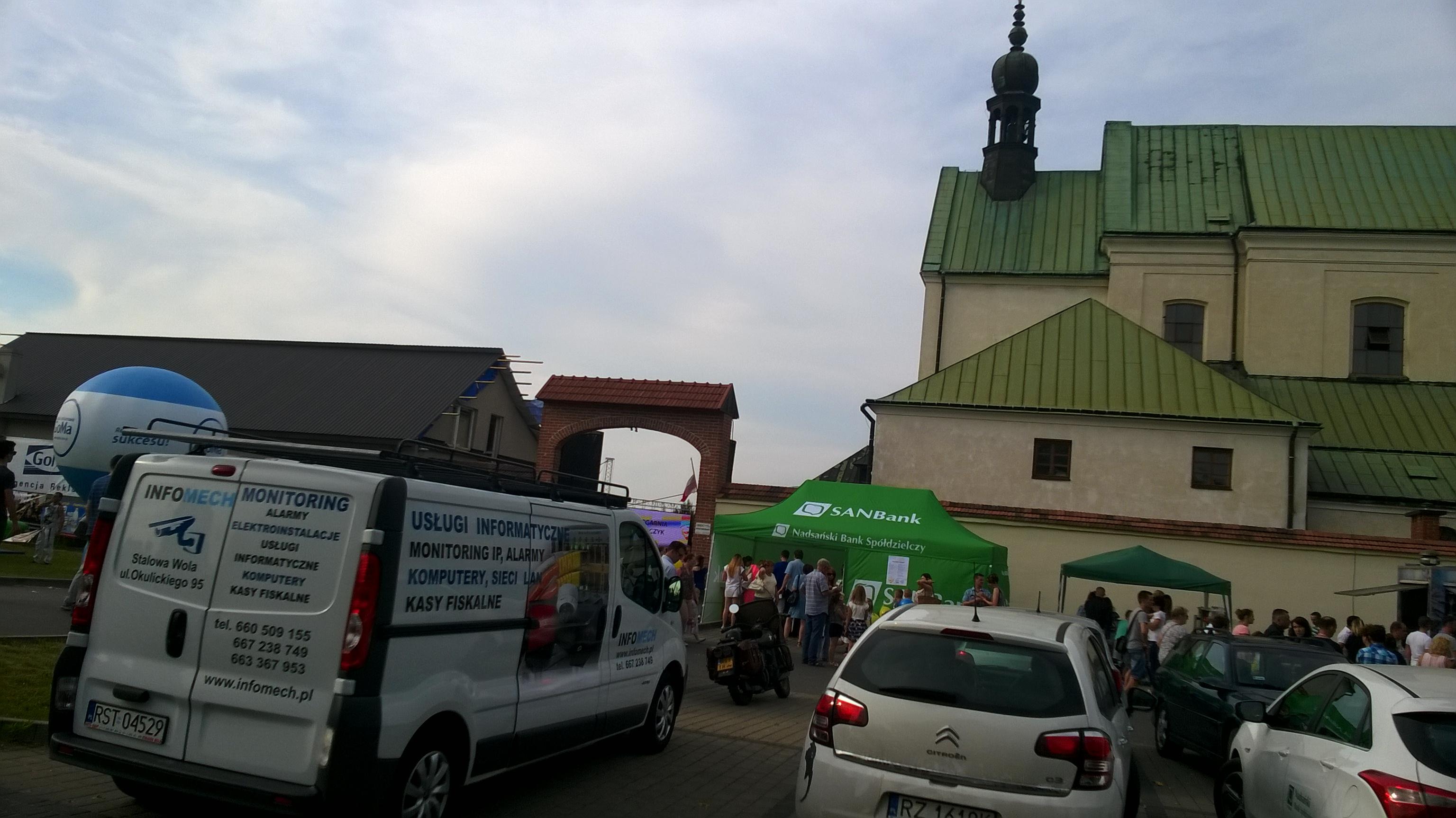 Stalowa Wola XVII Charytatywny Piknik Kapucyński przyciągnął tłumy INFOMECH wykonał monitoring CCTV IP