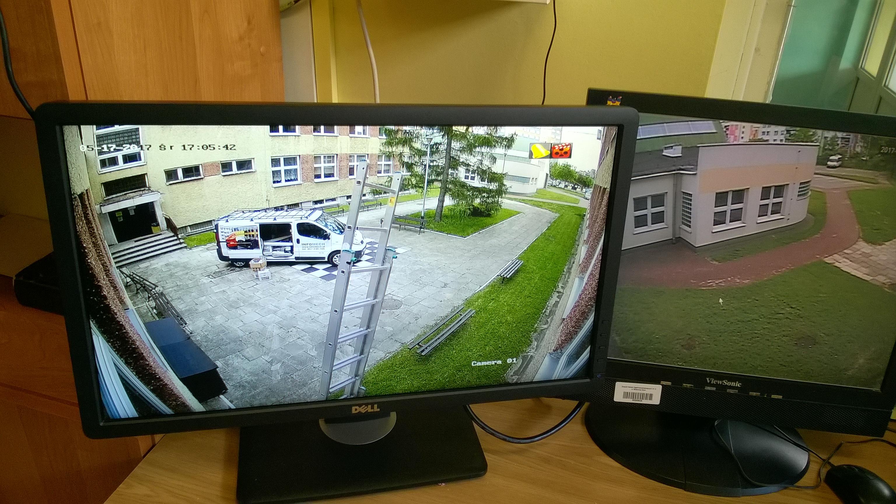 Wykonaliśmy monitoring w Szkole Samorządowej w Stalowej Woli. Obecnie szykujemy sprzęt na Monitoring szkoły Biłgoraj Janów Lubelski