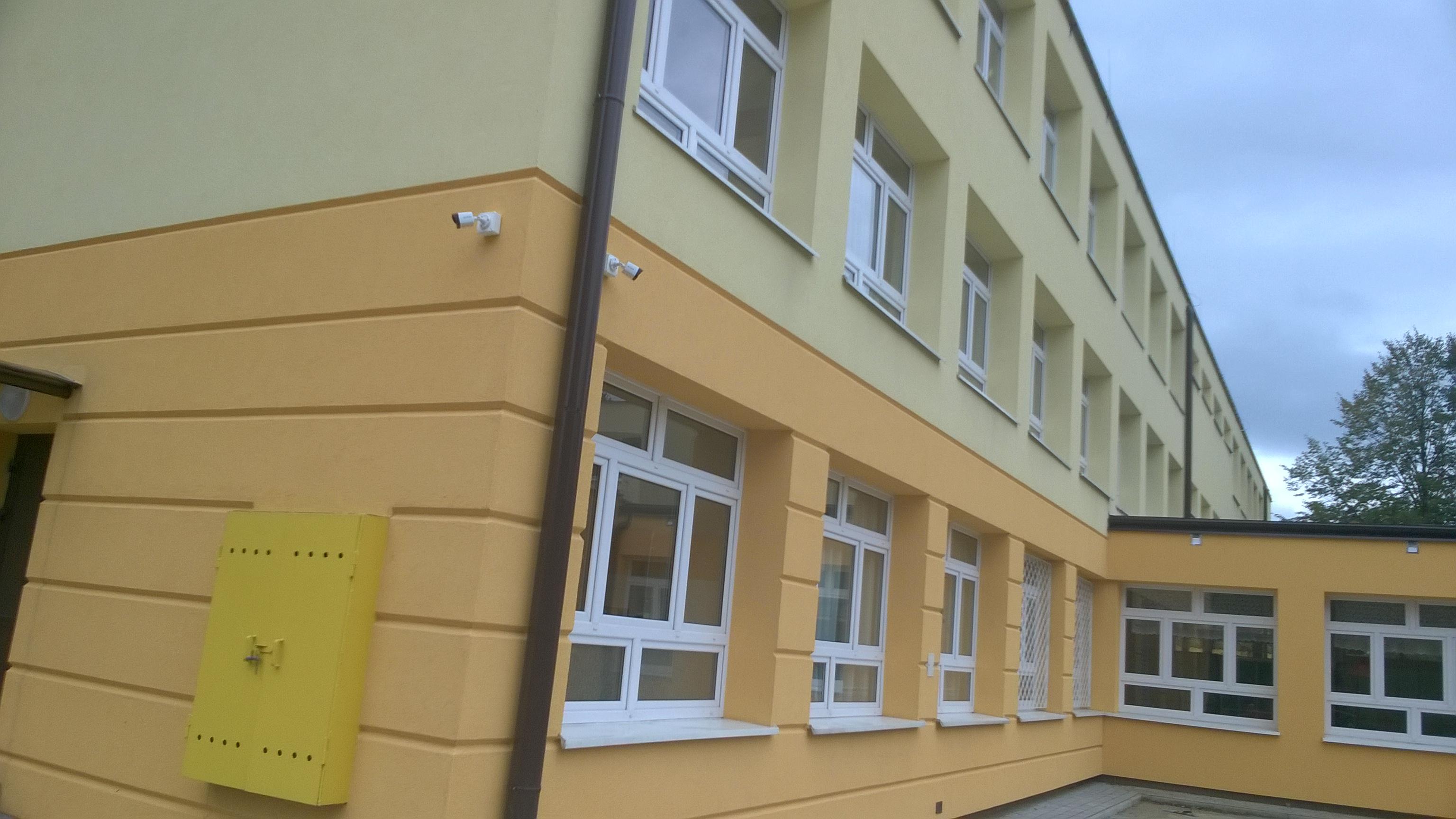 Monitoring Szkoły - Wykonaliśmy kompleksowy monitoring Zespół Szkół nr 6 Specjalnych w Stalowej Woli -bezpieczeństwo dzieci hikvision monitoring kraśnik