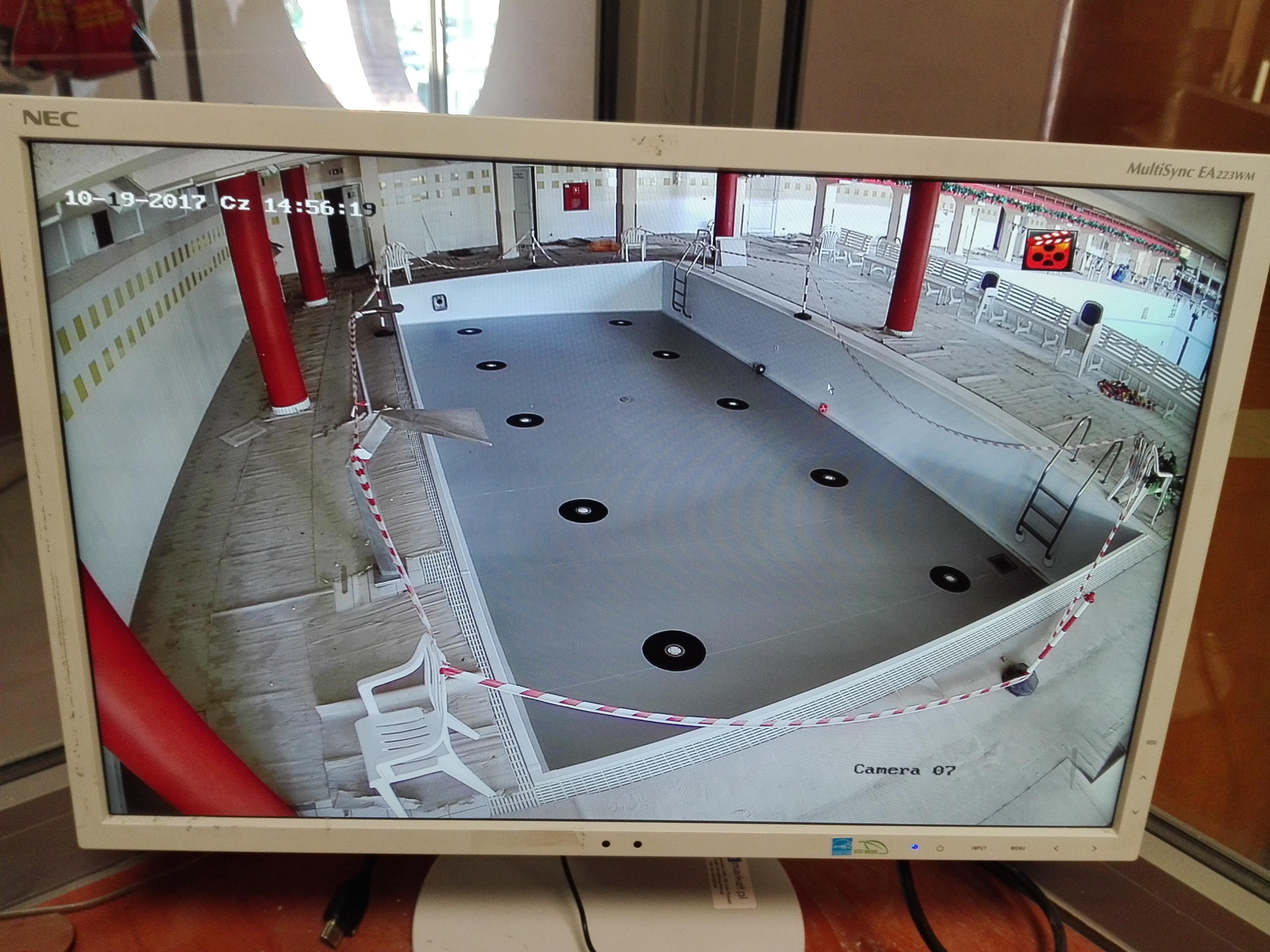 Monitoring obiektu MOSIR STALOWA WOLA zrealizowany przez INFOMECH monitoring kraśnik
