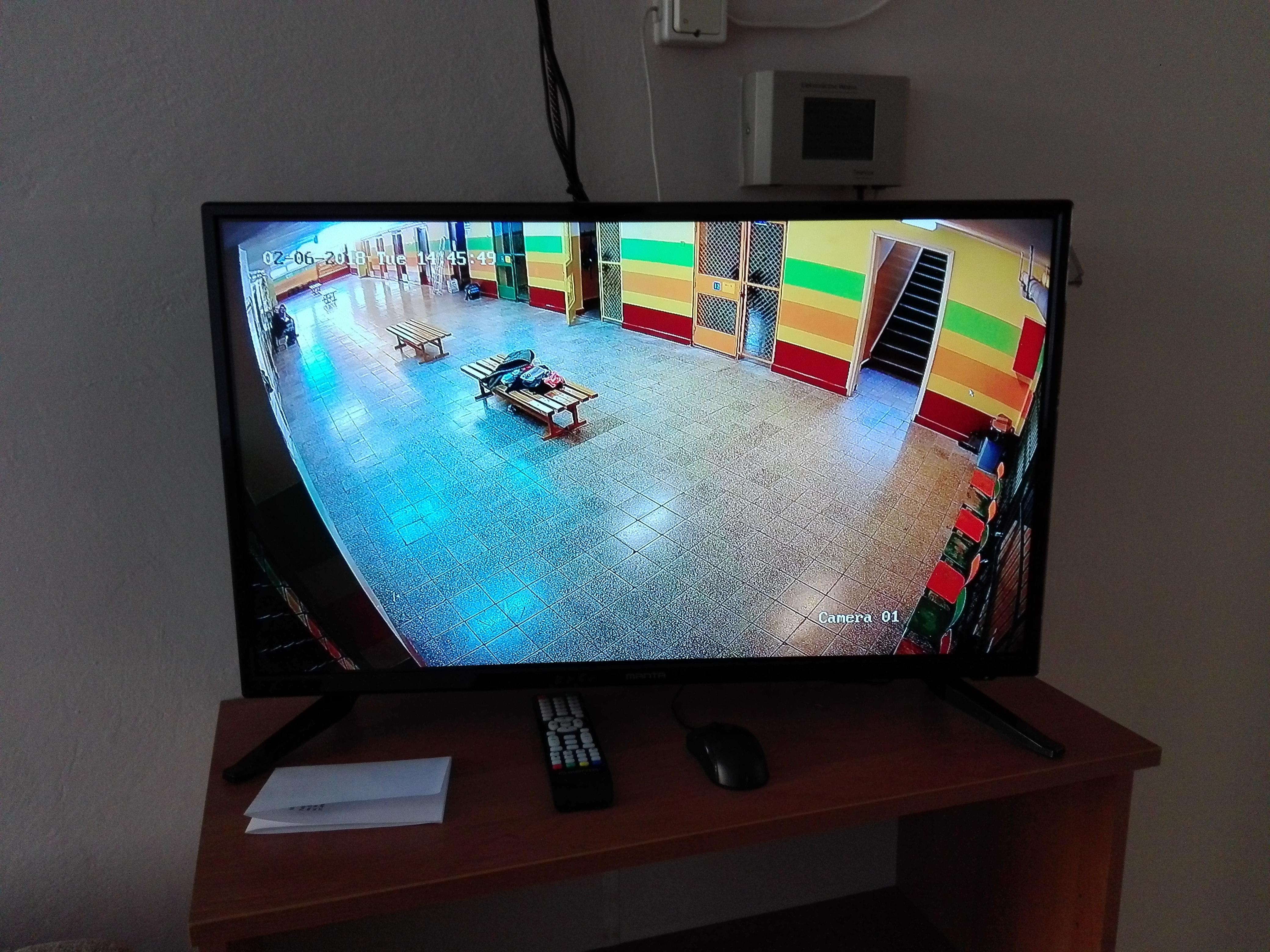 Wykonaliśmy monitoring w Szkole Podstawowej nr 1 w Stalowej Woli - hikvision monitoring szkoły Sandomierz