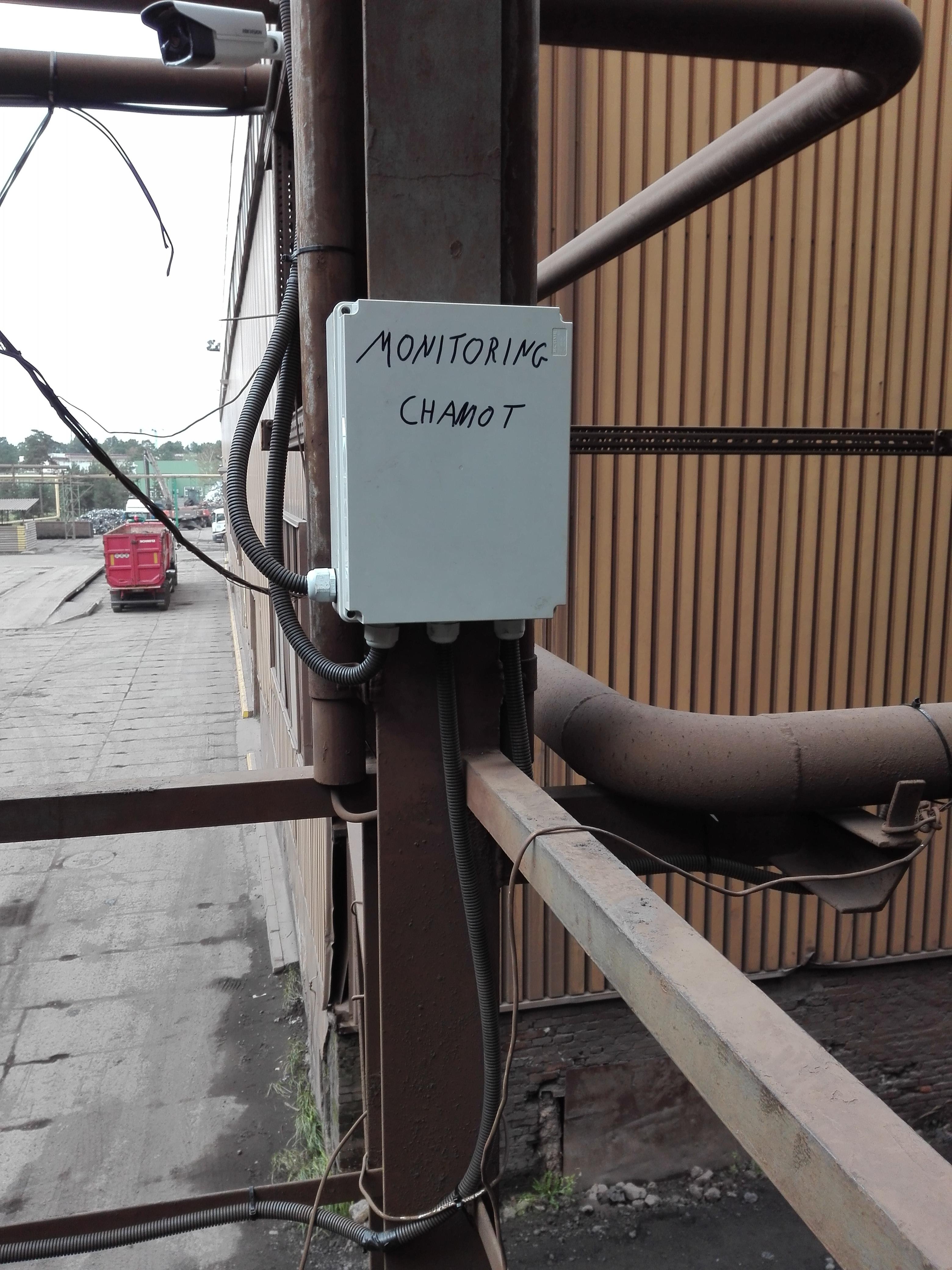 Wykonanie Monitoringu HSW HSJ CHAMOT Stalowa WOLA Monitoring produkcji sieci LAN monitoring biłgoraj