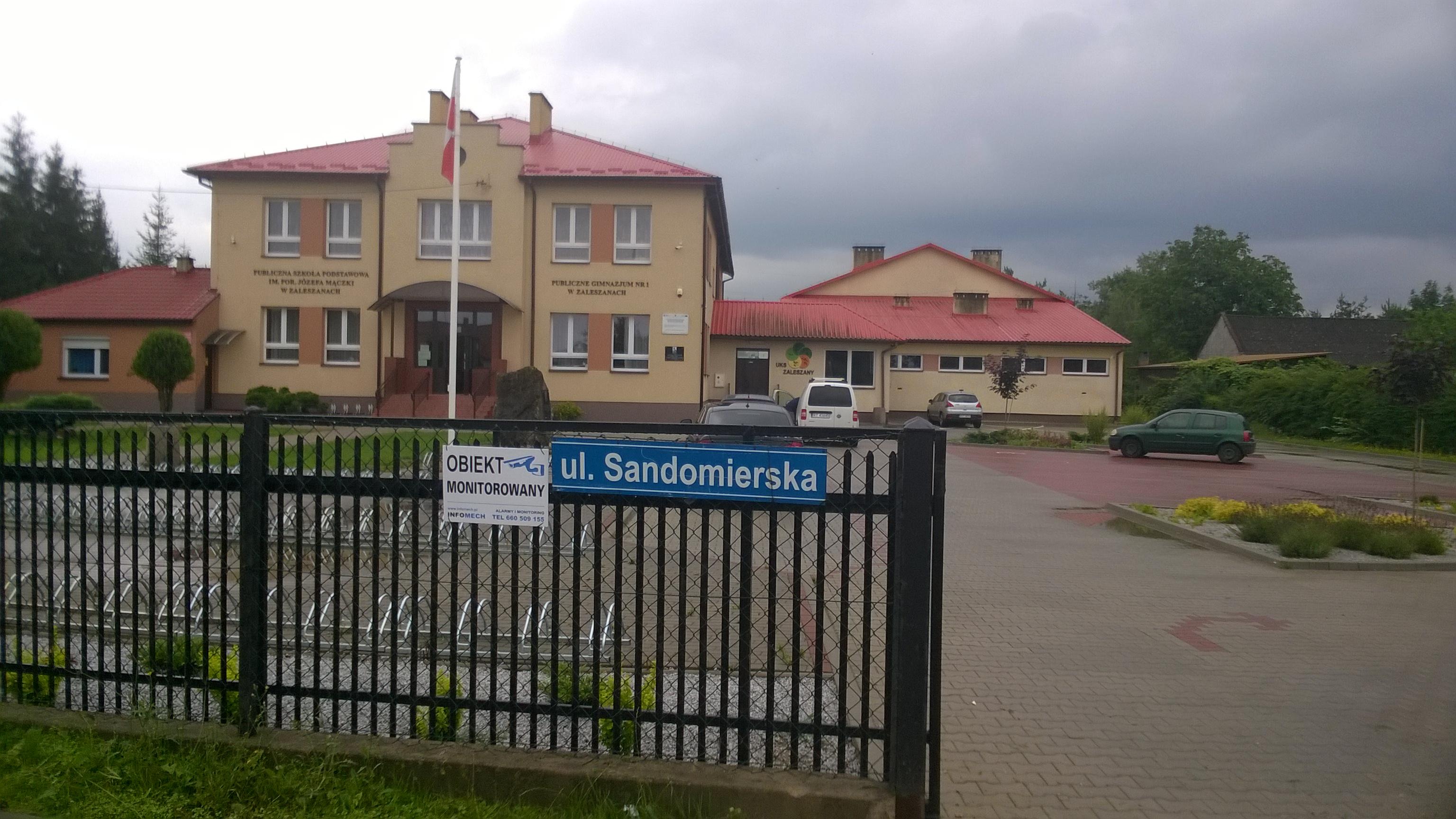 Wykonaliśmy Monitoring Szkoły w Zaleszanach - monitoring kraśnik, janów lubelski