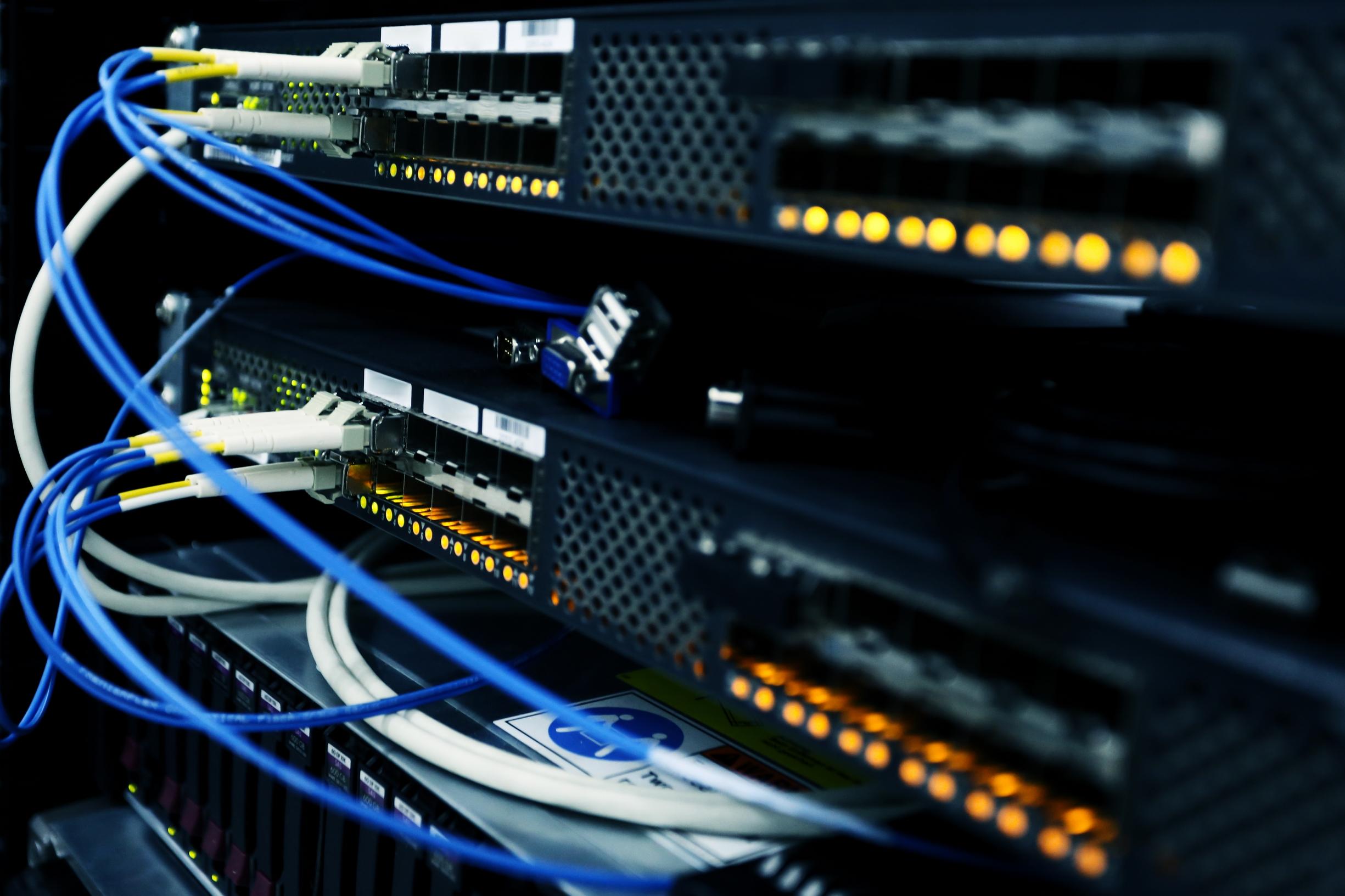 Wykonanie sieci komputerowej LAN Starostwo Powiatowe Stalowa Wola infomech