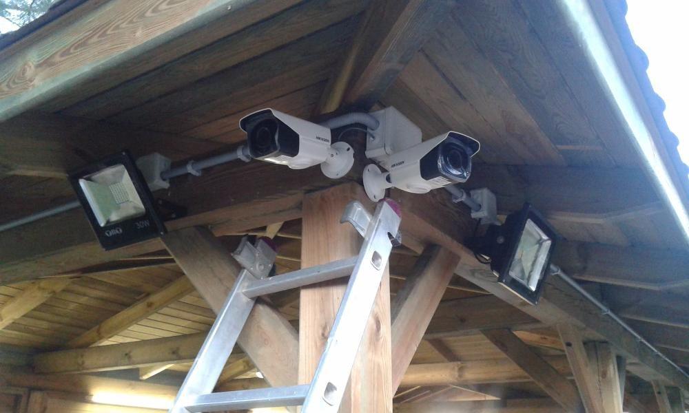Monitoring cyfrowy farmy fotowoltaicznej kamery hikvision Kraśnik Kolbuszowa
