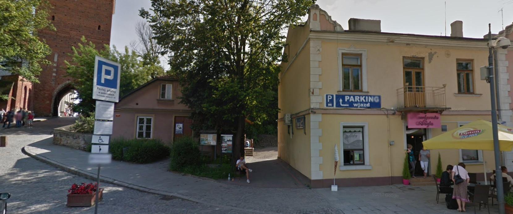 Monitoring Sklepu ŻABKA Sandomierz obok Bramy Opatowskiej - monitoring sklepu Sandomierz