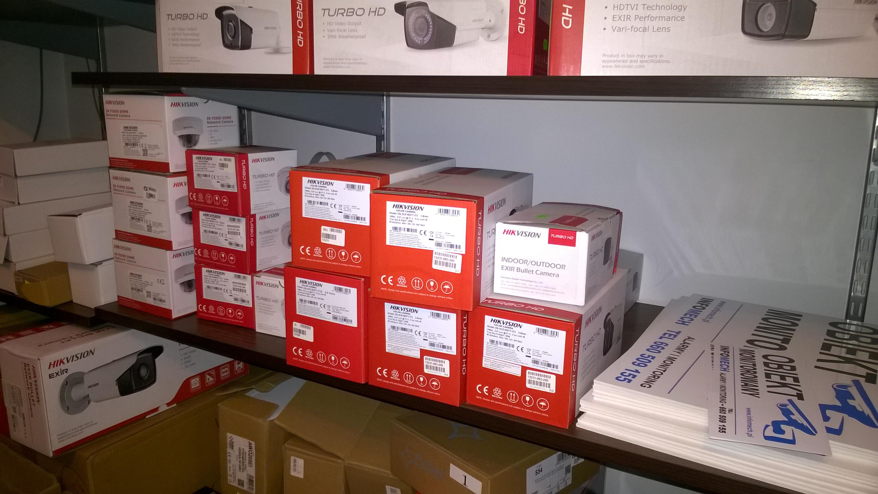 Wykonaliśmy monitoring oraz alarm w firmie ENESTA Stalowa Wola