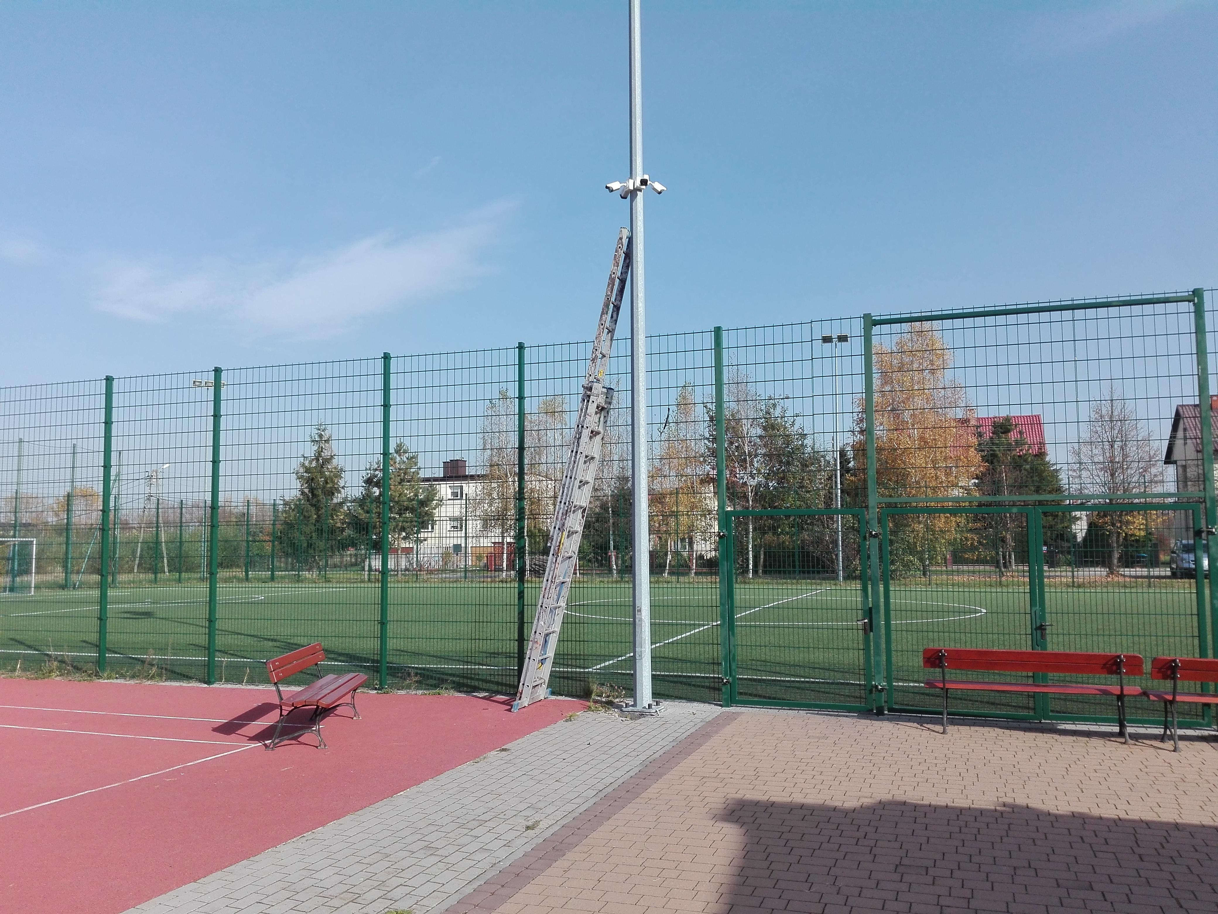 Monitoring boiska szkolnego Zaleszany. Monitoring szkoły tarnobrzeg