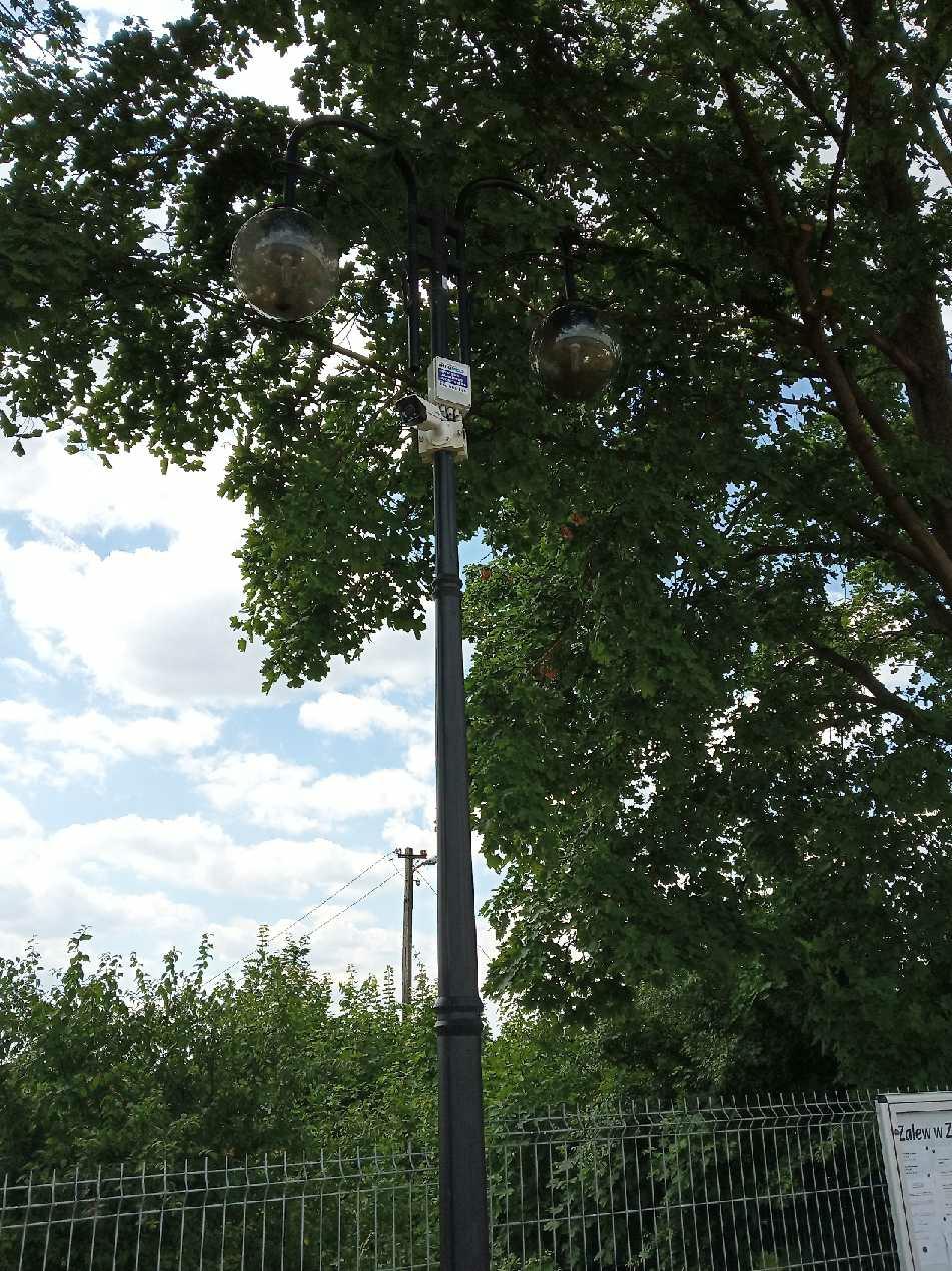 Wykonaliśmy monitoring miasta Zaklików CCTV