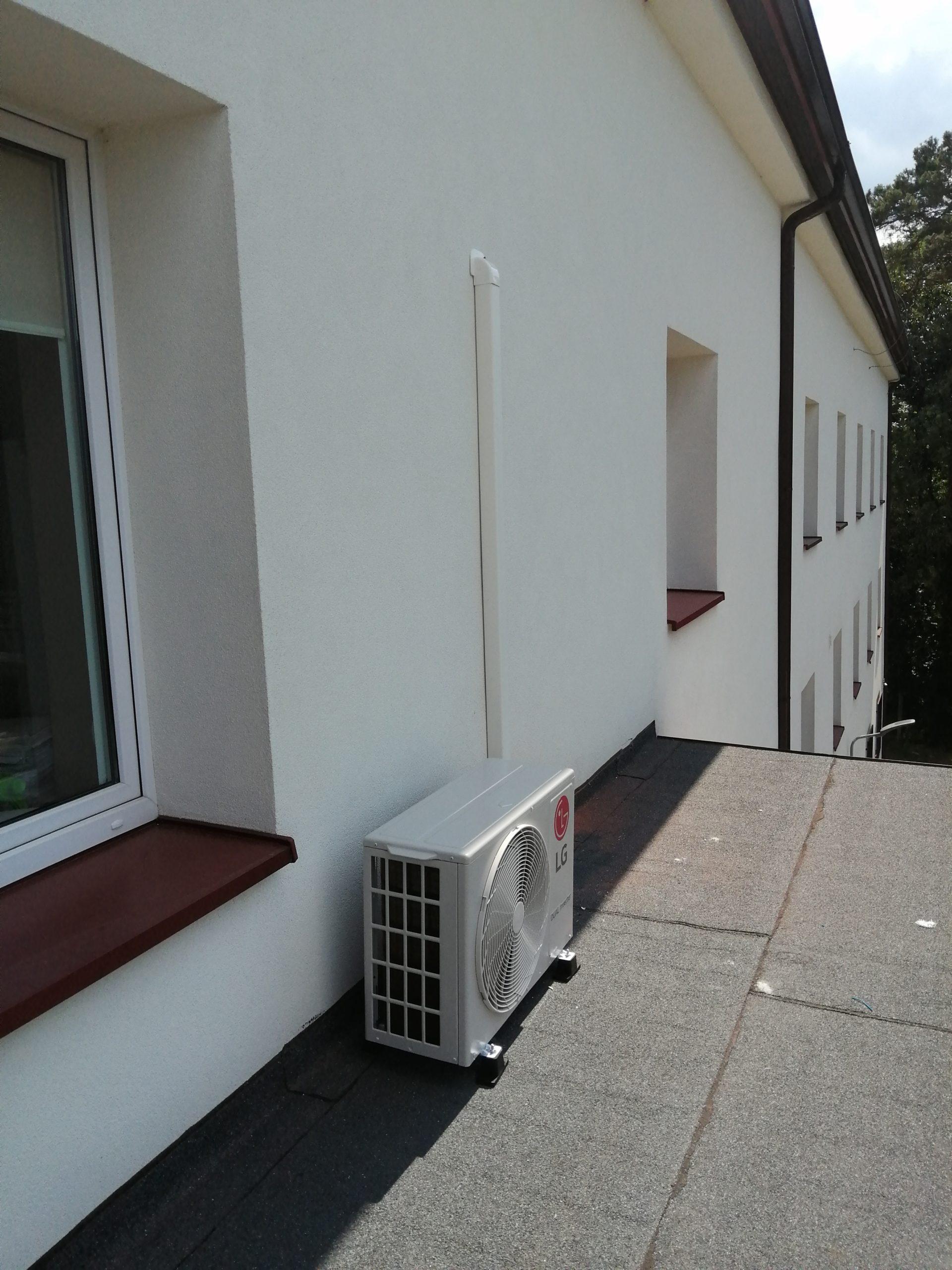 Wykonaliśmy klimatyzację w biurowcu Dressta Liugong Stalowa Wola