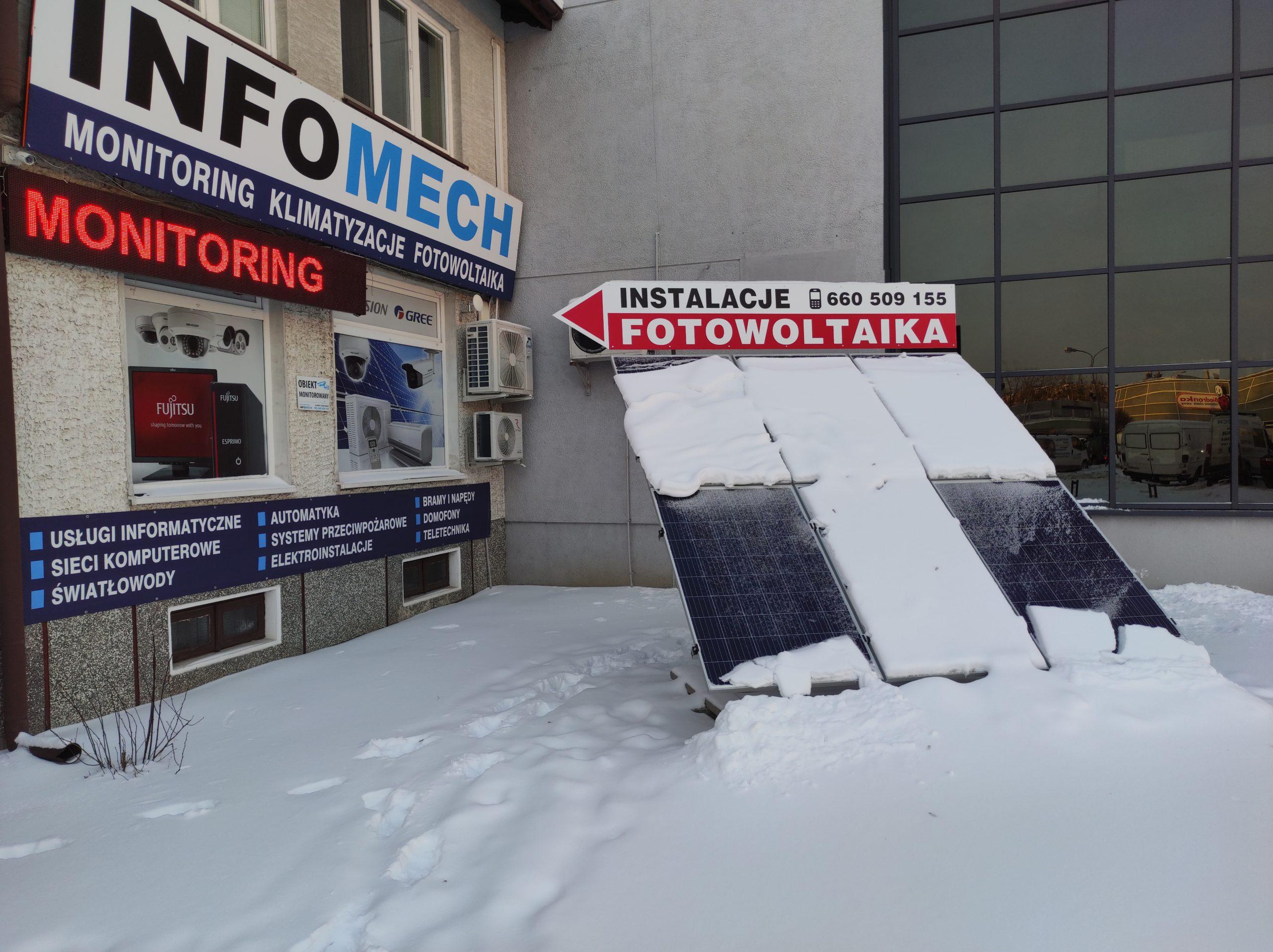 Zima w INFOMECH  - sezon 2021 Styczeń - Luty