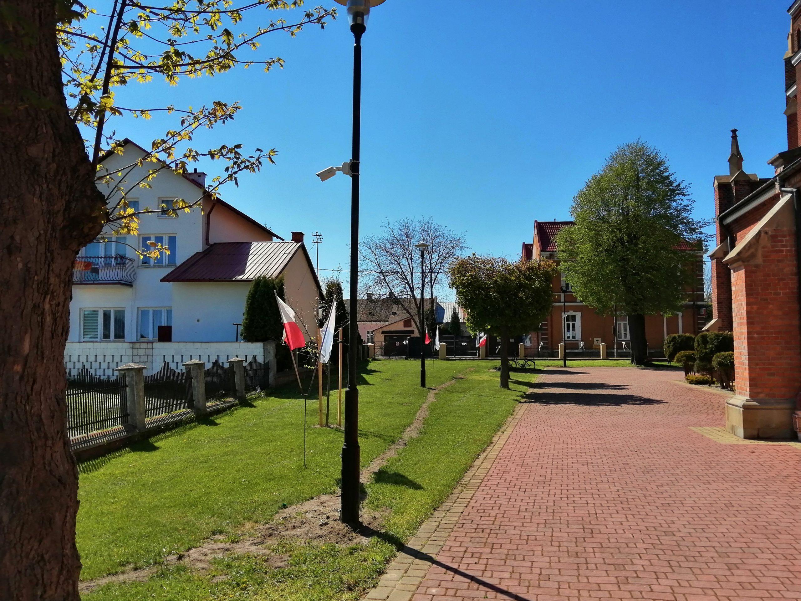 Monitoring kościoła w Leżajsku kamery Uniview